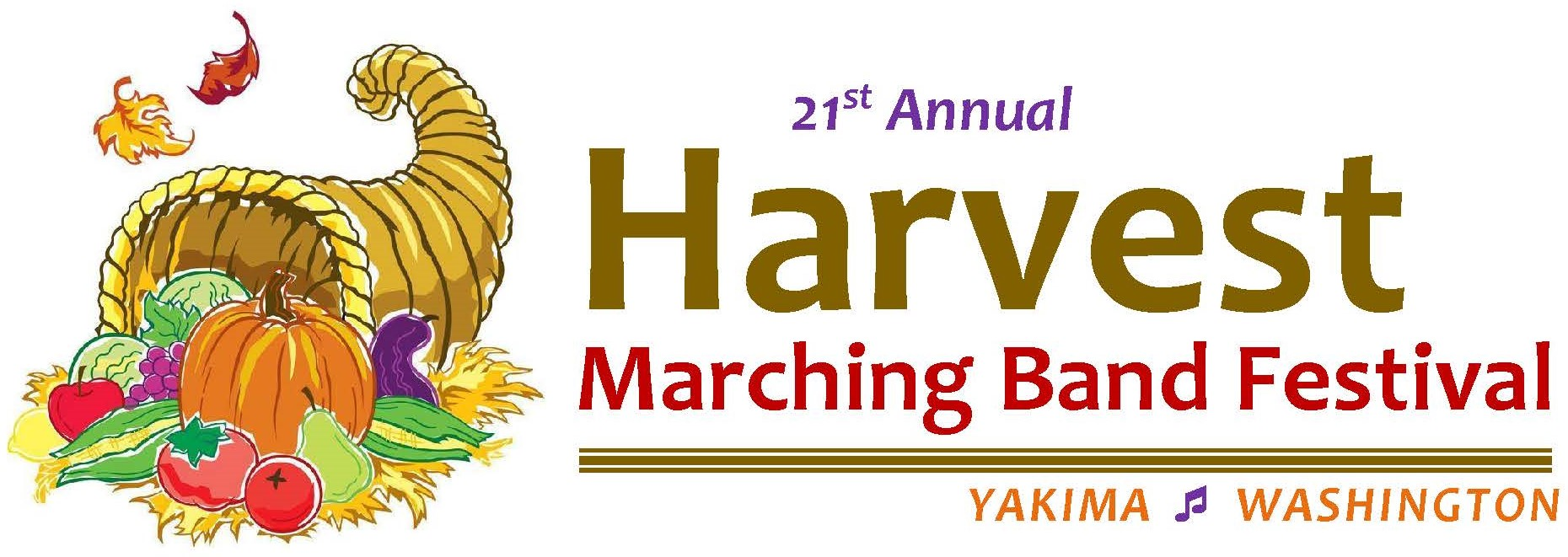 The Harvest Marching Band Festival Logo